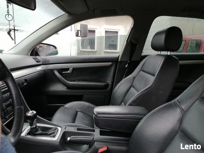 Audi A4 B6 full opcja Bogate wyposażenie czarna skóra Warto! Rusinów - zdjęcie 6