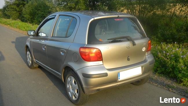 Toyota YARIS 1,3 Benzyna + LPG, 2004r Sanok - zdjęcie 6