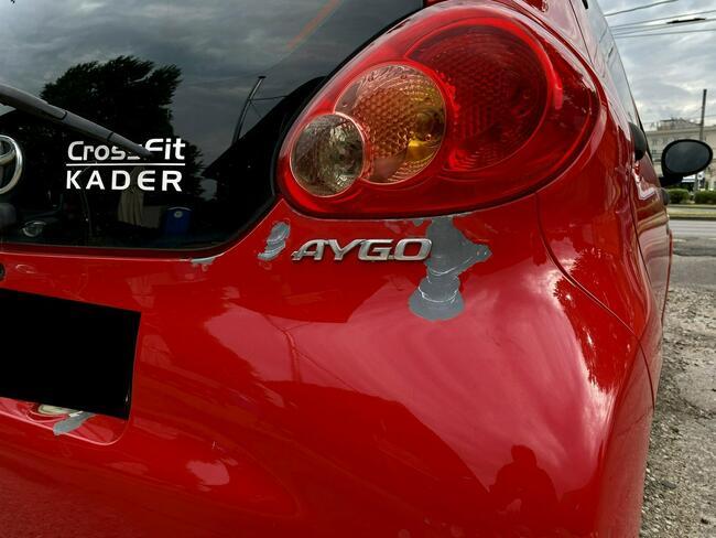 Toyota Aygo 1.0 VVT-i 68hp Zamiana Raty Gwarancja Gdynia - zdjęcie 8