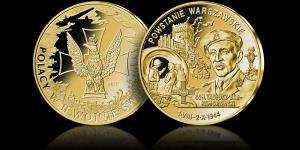 medal Powstanie Warszawskie Wierzbica Górna - zdjęcie 1