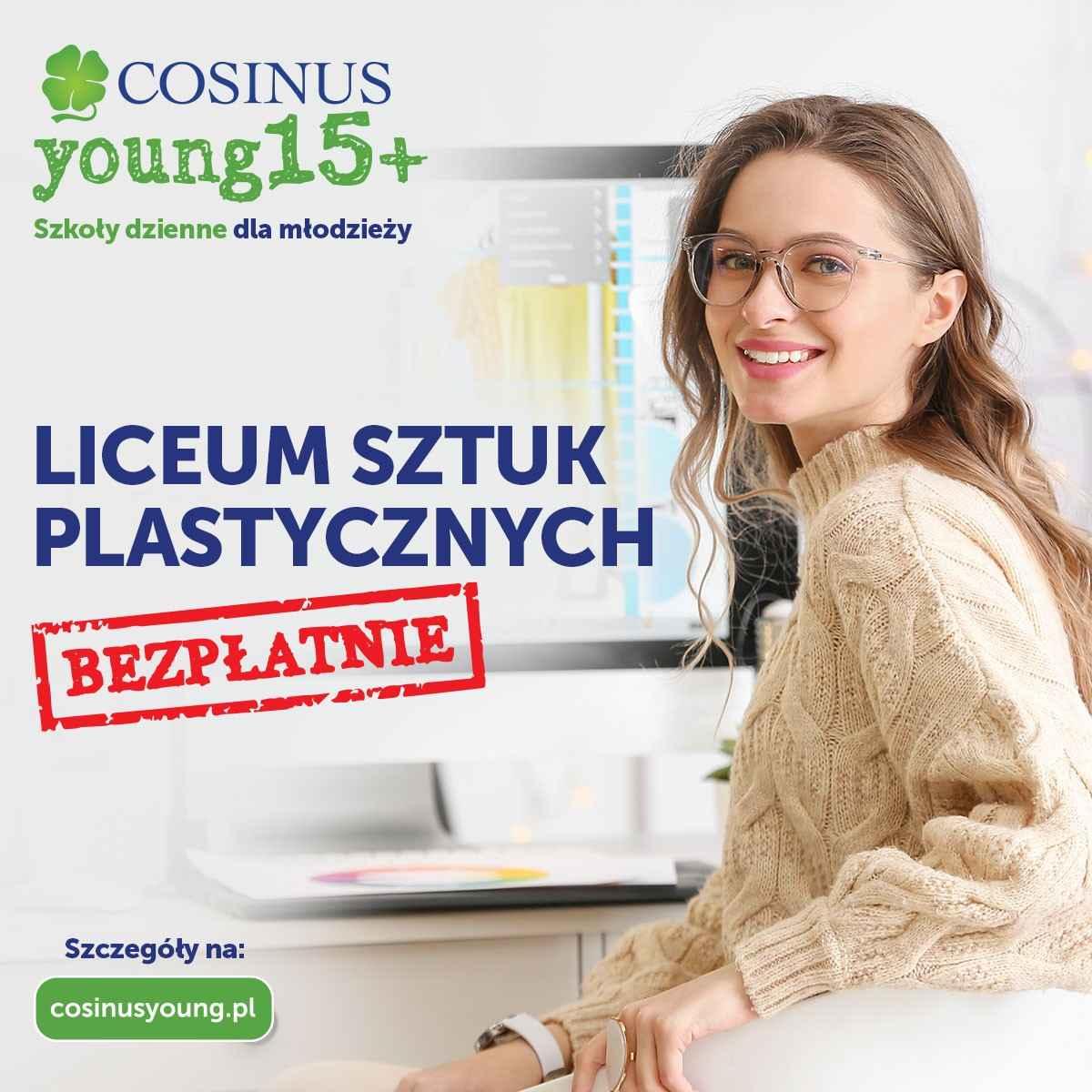 Liceum Sztuk Plastycznych CosinusYoung 15+ Mokotów - zdjęcie 1