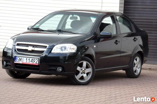 Chevrolet Aveo Klimatronic / Alu / RATY BEZ BIK / 2006r / 1,4 / 94KM Mikołów - zdjęcie 5
