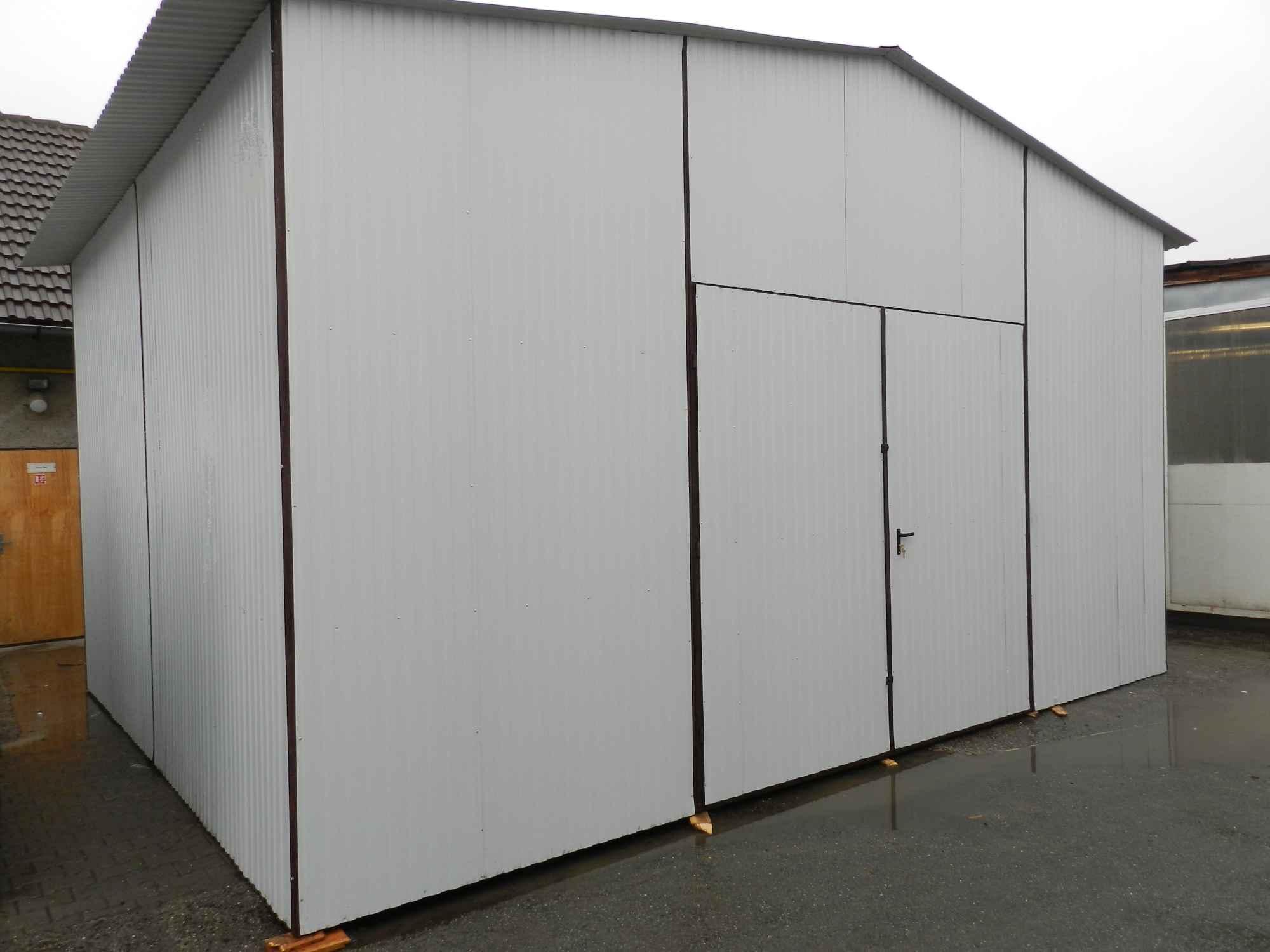 Garaże blaszane, blaszaki, schowki budowlane, kojce,wiaty, hale. Szczecin - zdjęcie 4