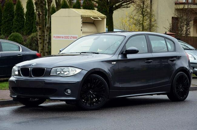 BMW 120 Opłacone 2.0i 150KM Serwis Rude skóry Navi Pdc Gwarancja Kutno - zdjęcie 7