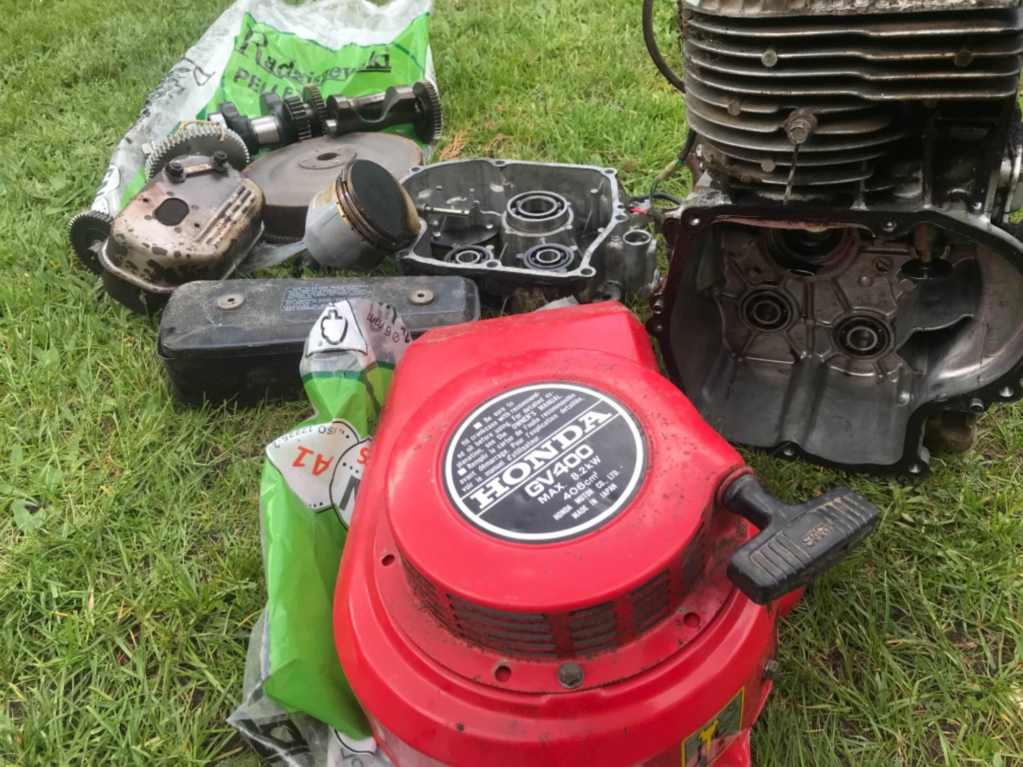Silnik Honda gv400 Bielsk Podlaski - zdjęcie 1