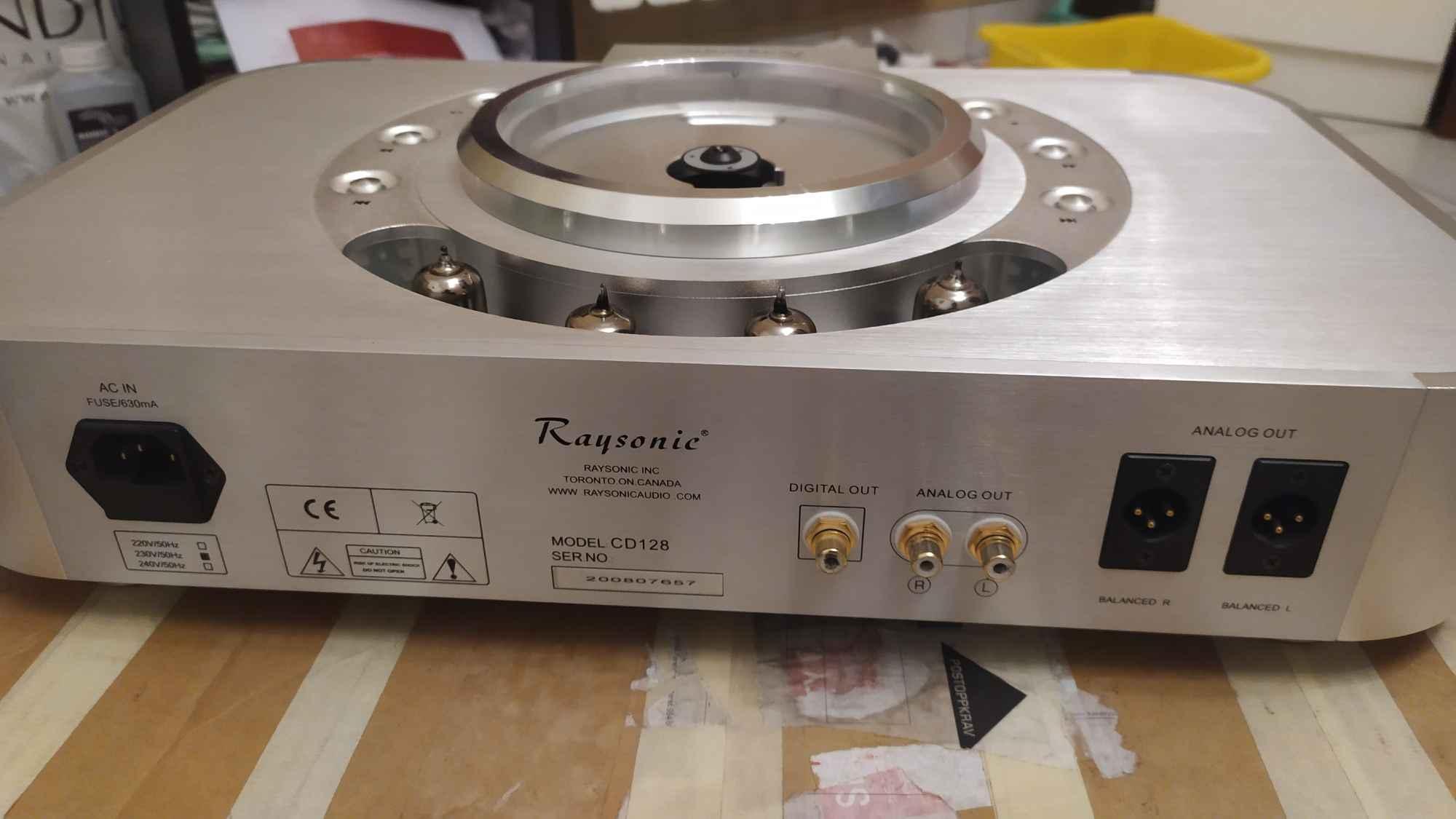 Raysonic cd128. Absolutny rarytas na rynku wtórnym. Lampowy. Kazimierza Wielka - zdjęcie 11
