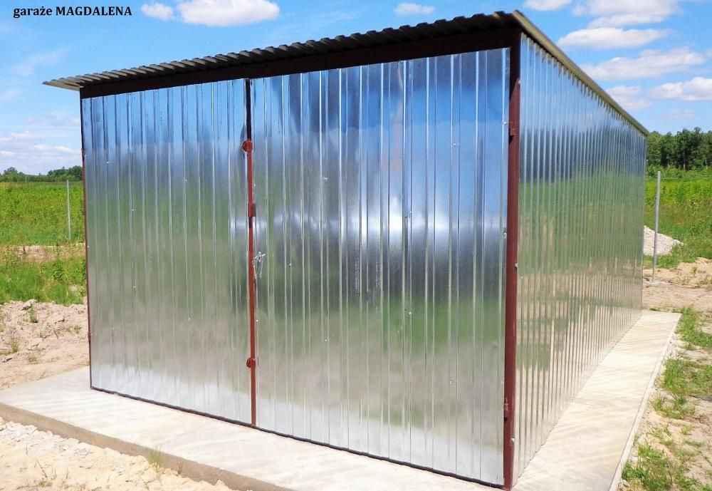 Garaż blaszany 3x5 4x6 6x5 GARAŻE wzmocnione CAŁA POLSKA szybki termin Śródmieście - zdjęcie 2
