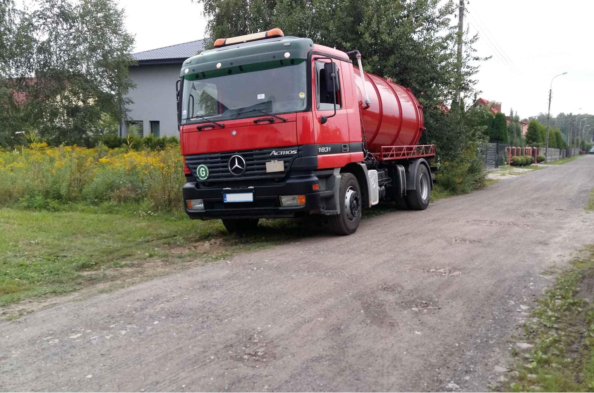 wywóz szamba odtykanie  rur kanalizacji KingKan WOŁOMIN787342182 Wołomin - zdjęcie 4