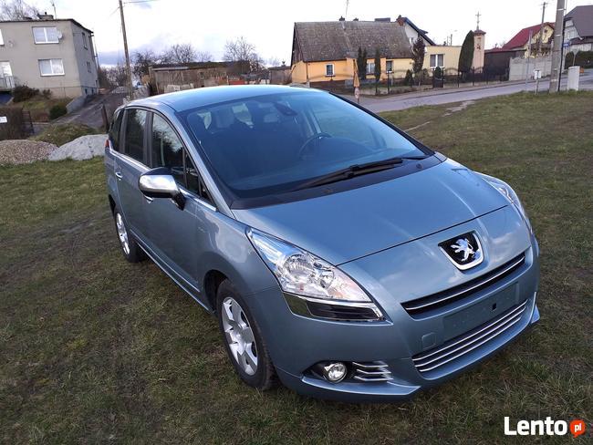 Peugeot 5008 1.6 HDI 110KM 2010r 152 tyś Chojnice - zdjęcie 3