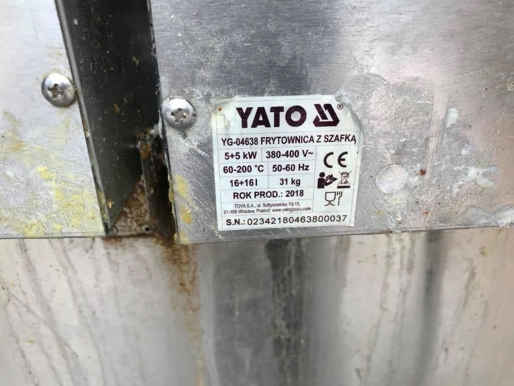 Frytkownica 2-komorowa z szafką YATO YG-04638 Praga-Południe - zdjęcie 4