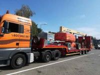 Transport maszyn 24 ton, pomoc drogowa, laweta Poznań Wielkopolska Grunwald - zdjęcie 1