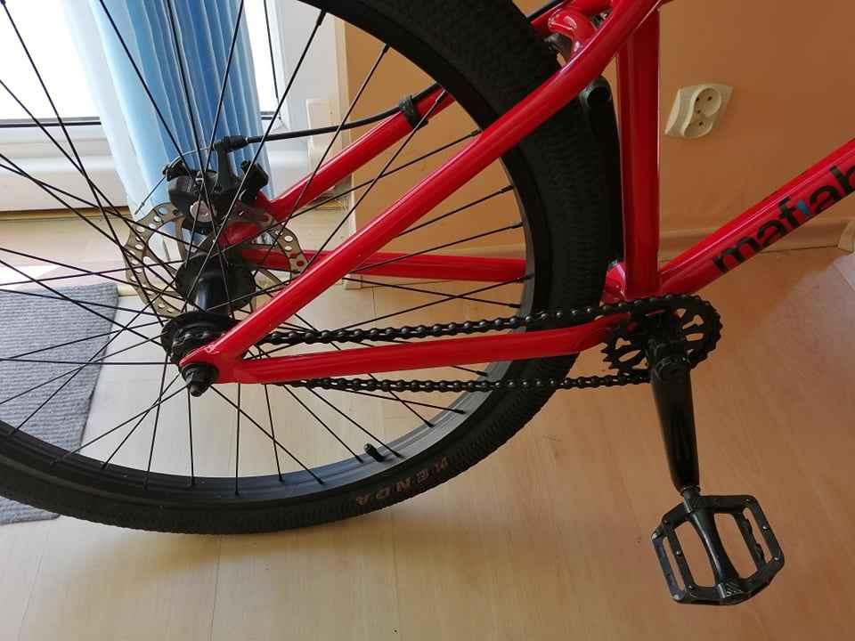 Rower BMX mafiabikes Medusa Czerwony Ustka - zdjęcie 2