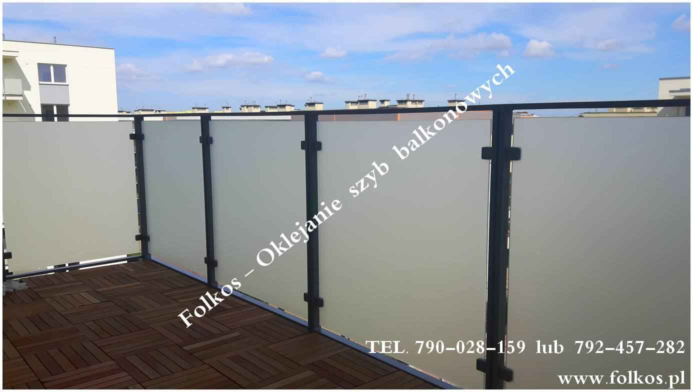 Folie okienne Nadarzyn-oklejanie szyb Folkos folie matowe idekoracyjne Nadarzyn - zdjęcie 5