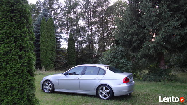 2005 BMW e90 325i 218 koni, N52, 6 biegow, skora, xenon Sanok - zdjęcie 2
