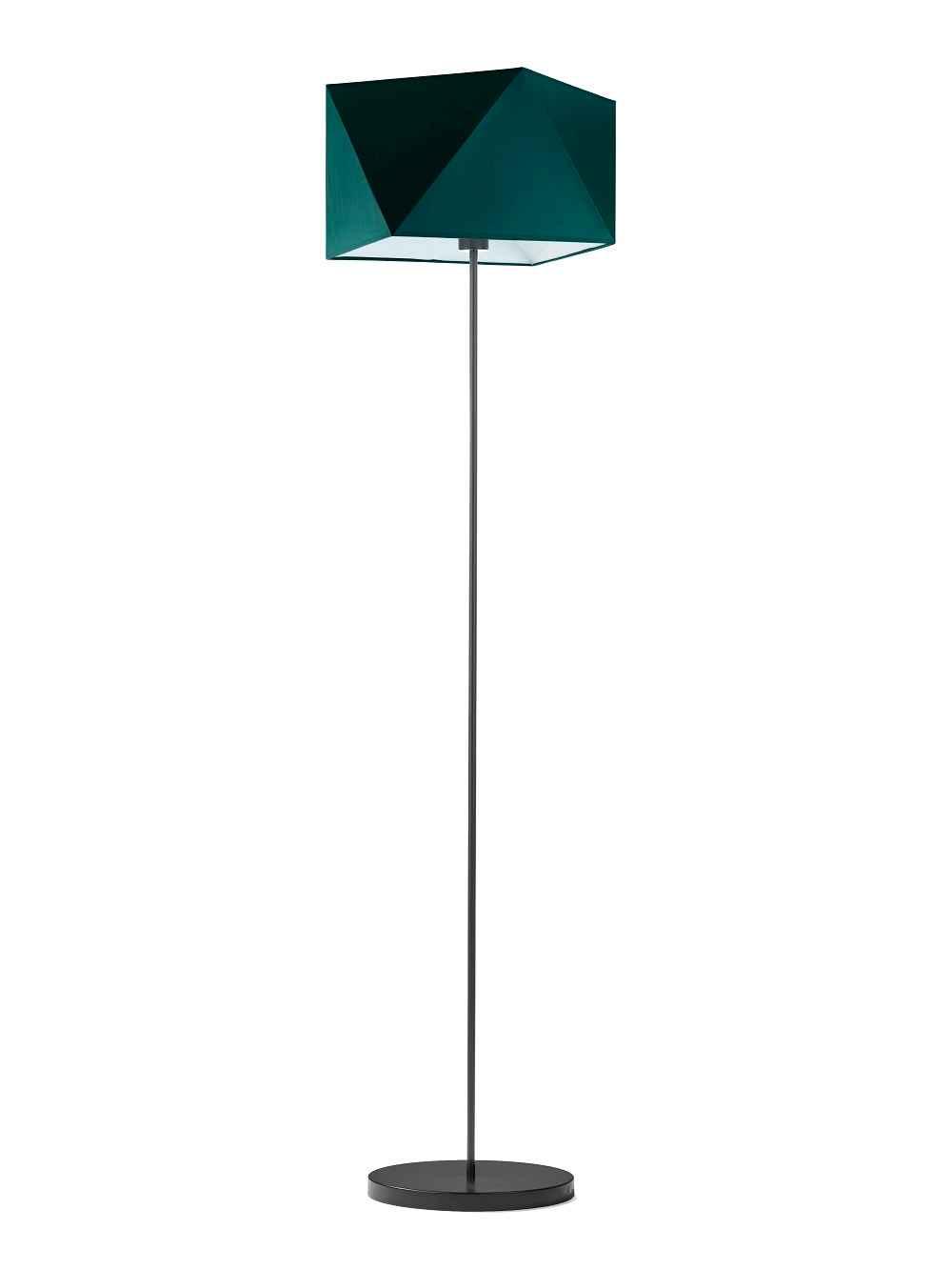 Lampa stojąca abażurowa diament BURNE! Częstochowa - zdjęcie 1