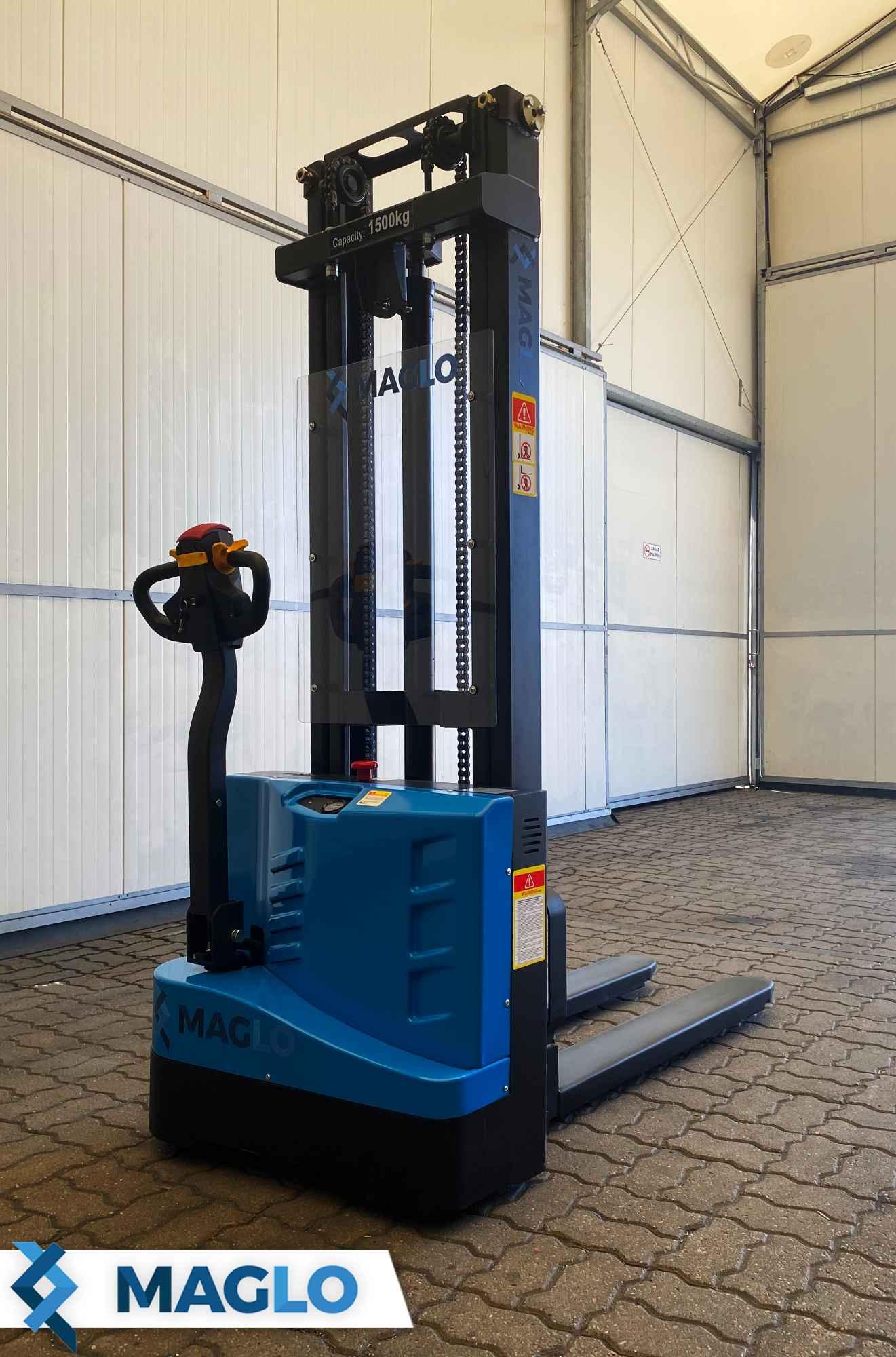Wózek podnośnikowy elektryczny 1,5 T podnoszenie 3,3 M WEST15T Bałuty - zdjęcie 3