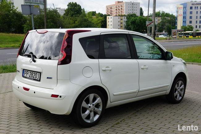 Nissan Note nawigacja, salon Polska Warszawa - zdjęcie 5