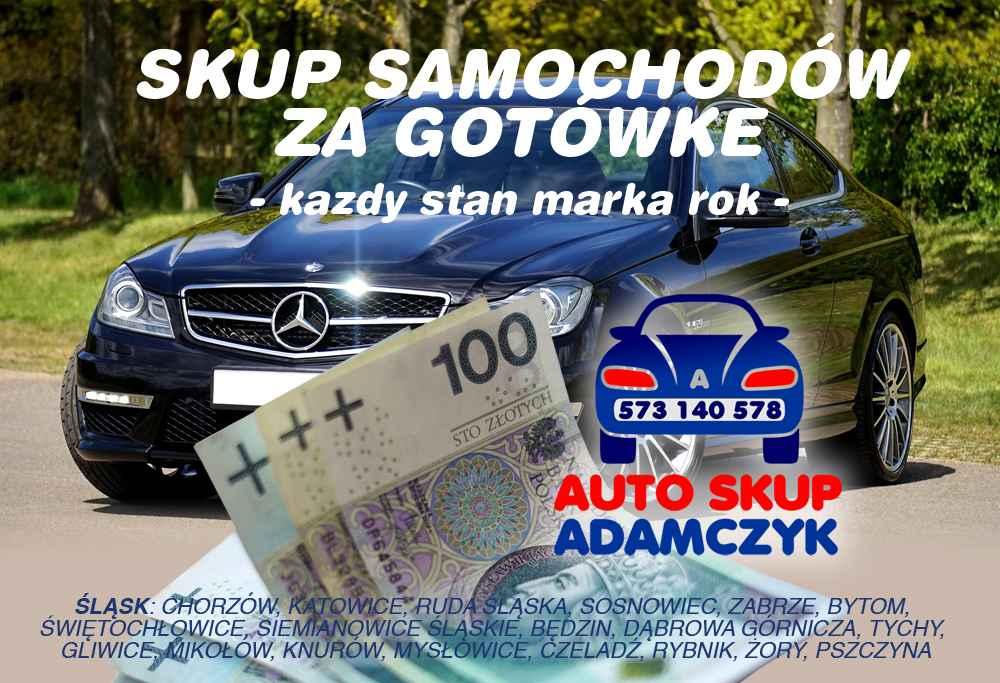 Skup samochodów śląskie skup aut Katowice za GOTÓWKĘ auto złomowanie Katowice - zdjęcie 1