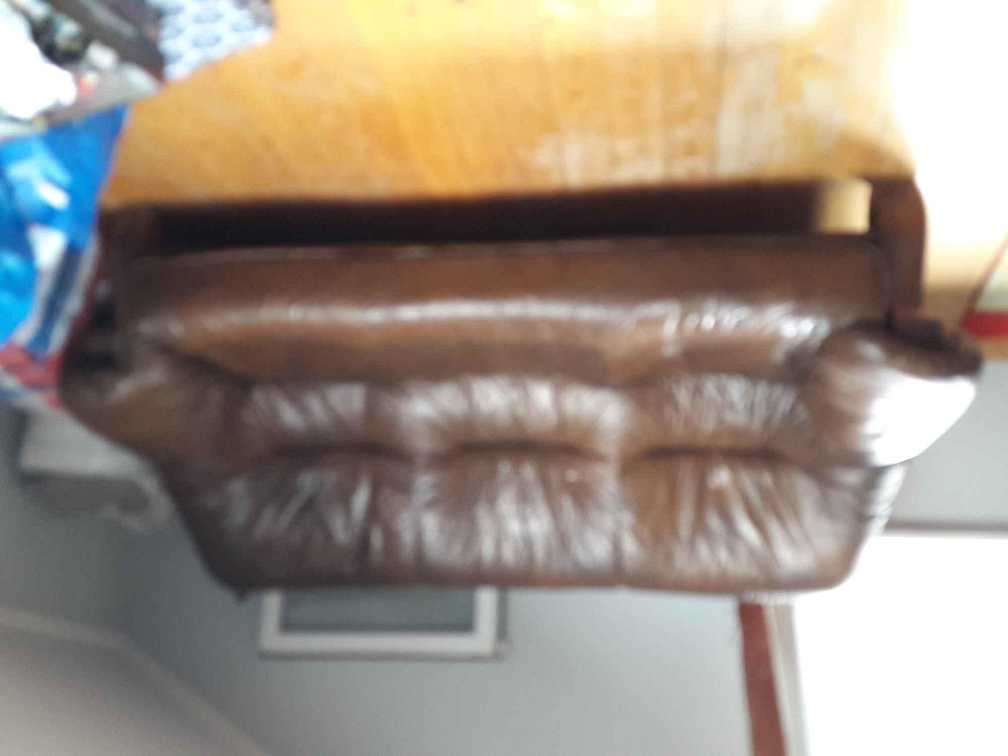 Sprzedam skórzany wypoczynek Iwanowice Dworskie - zdjęcie 1