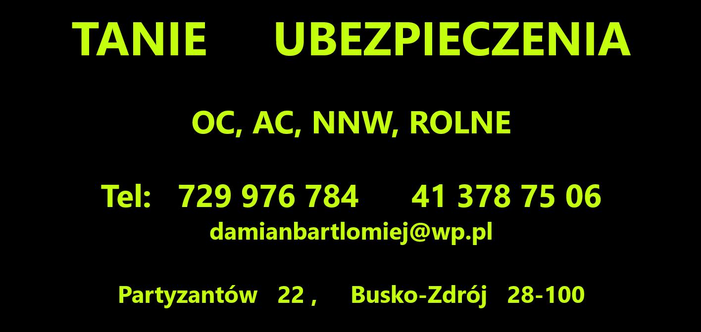 Tabie Ubezpieczenia Damian Sergiel Busko-Zdrój - zdjęcie 1