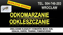Zwalczanie kleszczy, cena, Wrocław, t504-746-203, Opryski, likwidacja. Psie Pole - zdjęcie 3