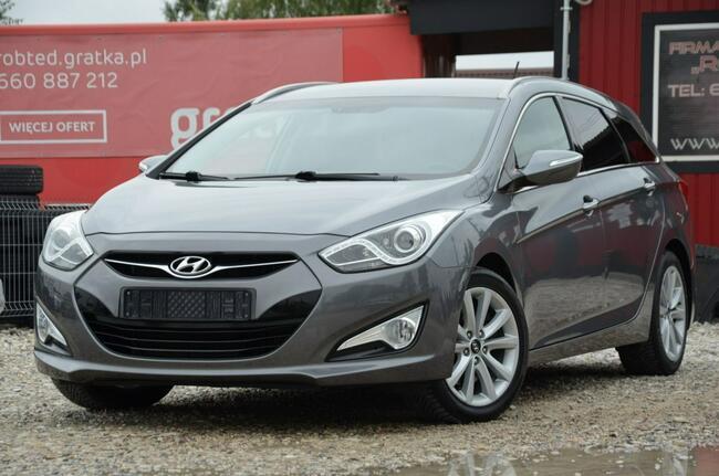 Hyundai i40 Opłacony 1.7CRDI 136KM Serwis Kamera Navi Led Gwara Kutno - zdjęcie 8