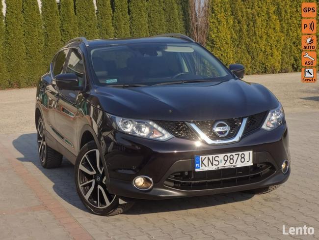 Nissan Qashqai Tekna Nawi Panorama L E D  Kamery 360 Nowy Sącz - zdjęcie 1