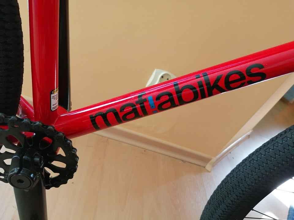 Rower BMX mafiabikes Medusa Czerwony Ustka - zdjęcie 6