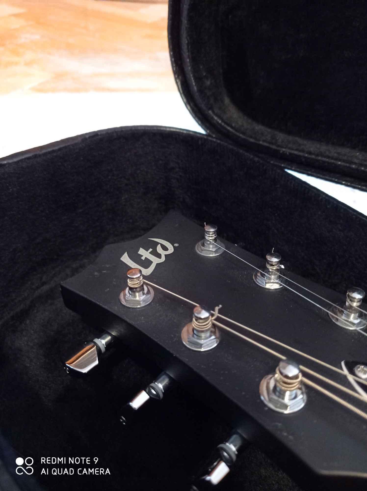 Gitara Elektryczna ESP LTD EC-50 BLKS + DODATKI (DARMOWA WYSYŁKA) Lubań - zdjęcie 4
