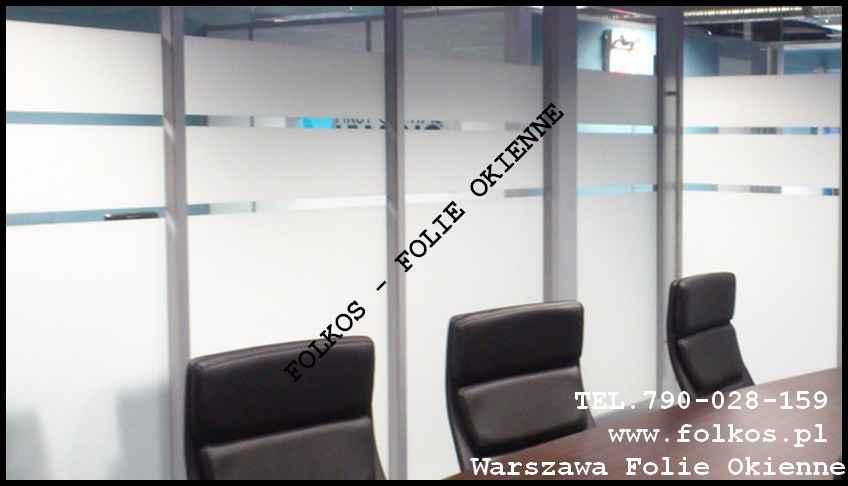 Folie okienne Wyszków -Oklejanie szyb folie do dekoracji szyb Folkos Wyszków - zdjęcie 9