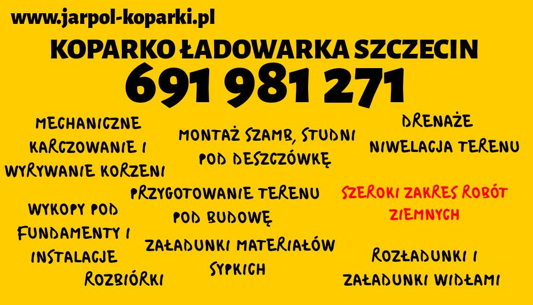 koparko ładowarka Szczecin Szczecin - zdjęcie 1