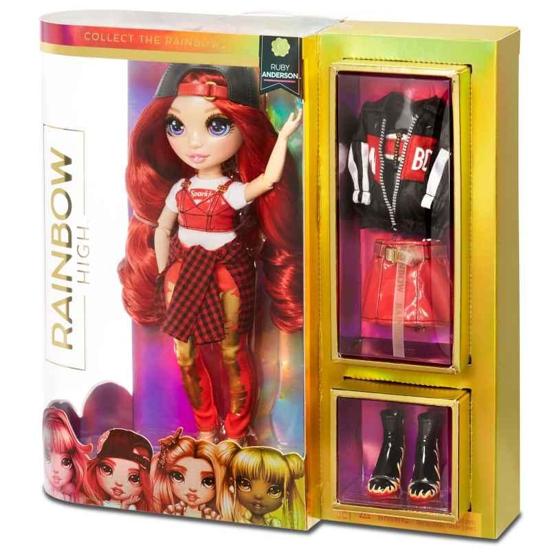 L.O.L Rainbow High Fashion Doll- Ruby Anderson lalka Galiny - zdjęcie 5