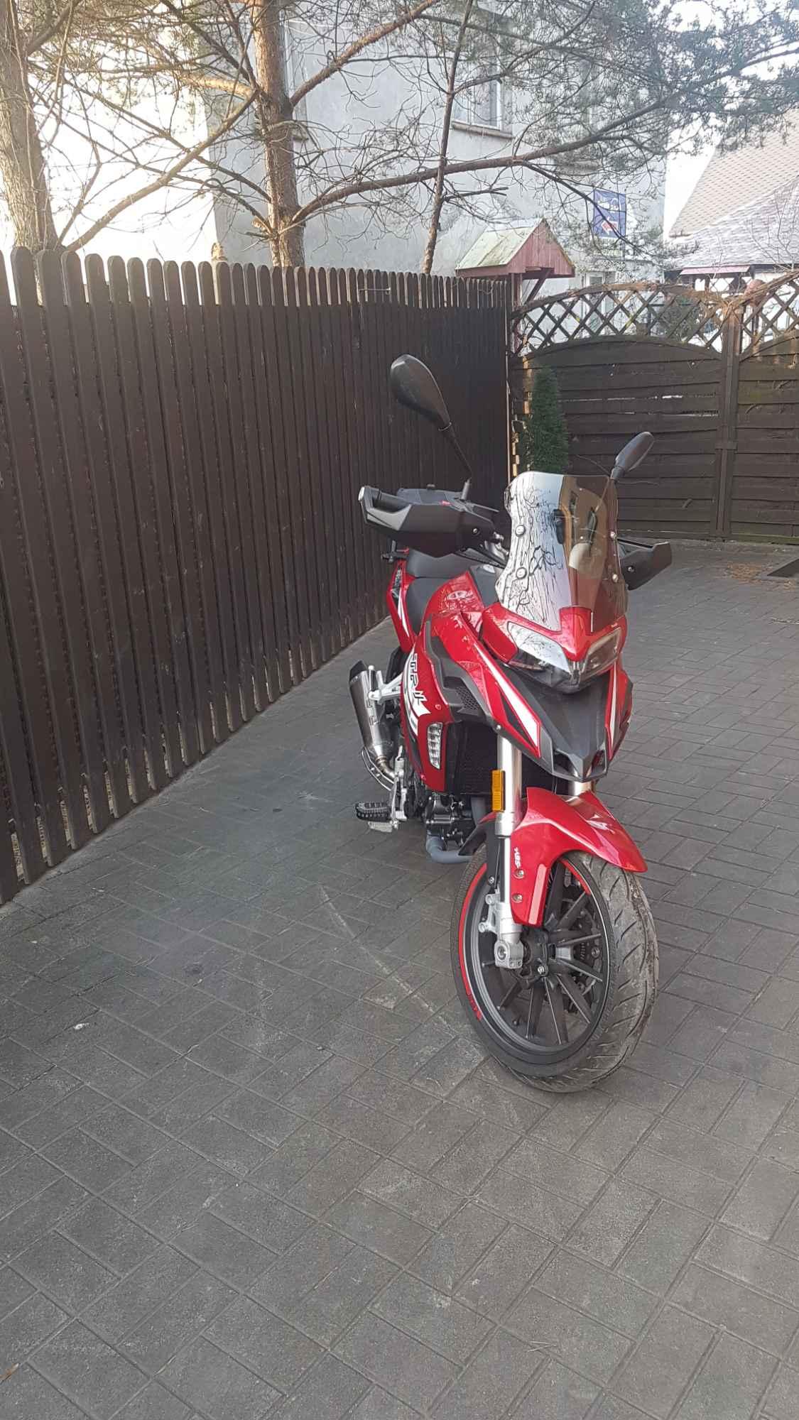 Sprzedam motocykl Benelli Trk251 Psie Pole - zdjęcie 2