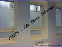 Folie okienne Wyszków -Oklejanie szyb folie do dekoracji szyb Folkos Wyszków - zdjęcie 5