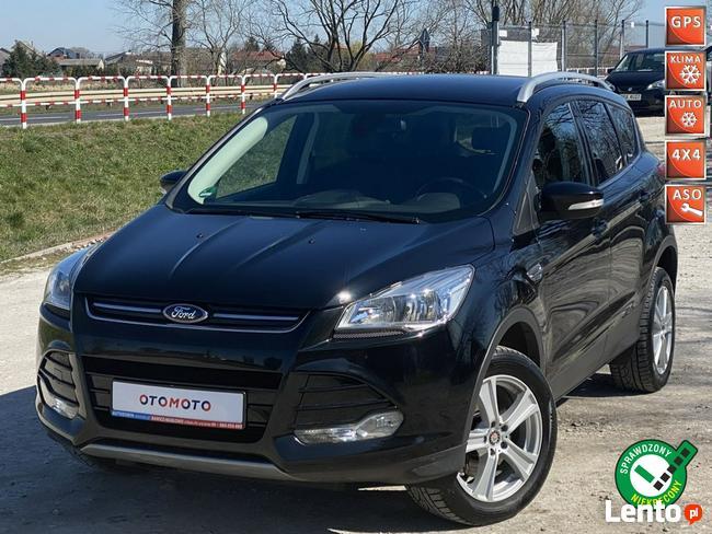 Ford Kuga Świeżo Zarejestrowane,przebieg 70tys km,4X4 skóra,Gwarancja Masłowo - zdjęcie 1