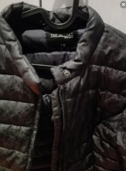 Pikowana kurtka na jesień S Elbląg - zdjęcie 4