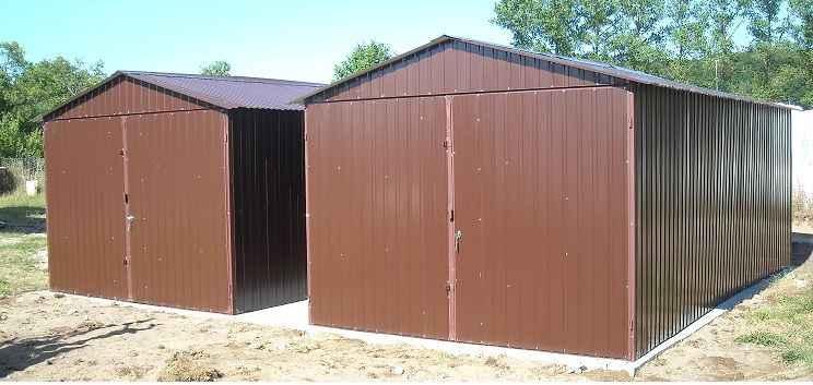 Garaż blaszany 3x5 4x6 6x5 GARAŻE wzmocnione CAŁA POLSKA szybki termin Śródmieście - zdjęcie 7