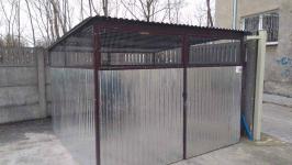 Garaże blaszane, blaszaki, schowki budowlane, kojce,wiaty, hale. Szczecin - zdjęcie 10