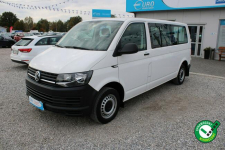 Volkswagen Transporter F-Vat,Gwarancja,Salon Polska,9-osób,LONG Warszawa - zdjęcie 1