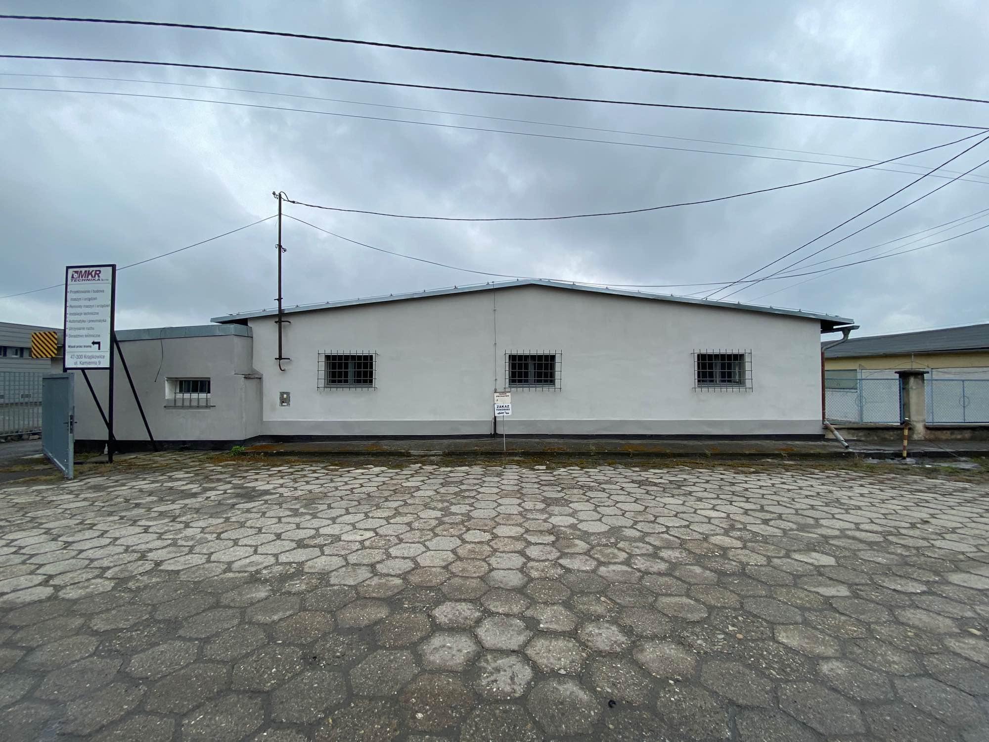 hala produkcyjna z obiektem biurowym Krapkowice - zdjęcie 1