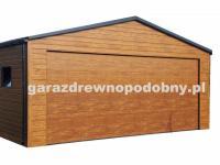 Garaż Blaszany drewnopodobny 6x5 Gabrielów - zdjęcie 1