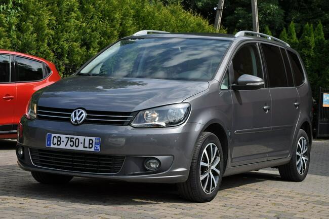 Volkswagen Touran 1,6TDI Nawi  Alum Gwarancja Zabrze - zdjęcie 3