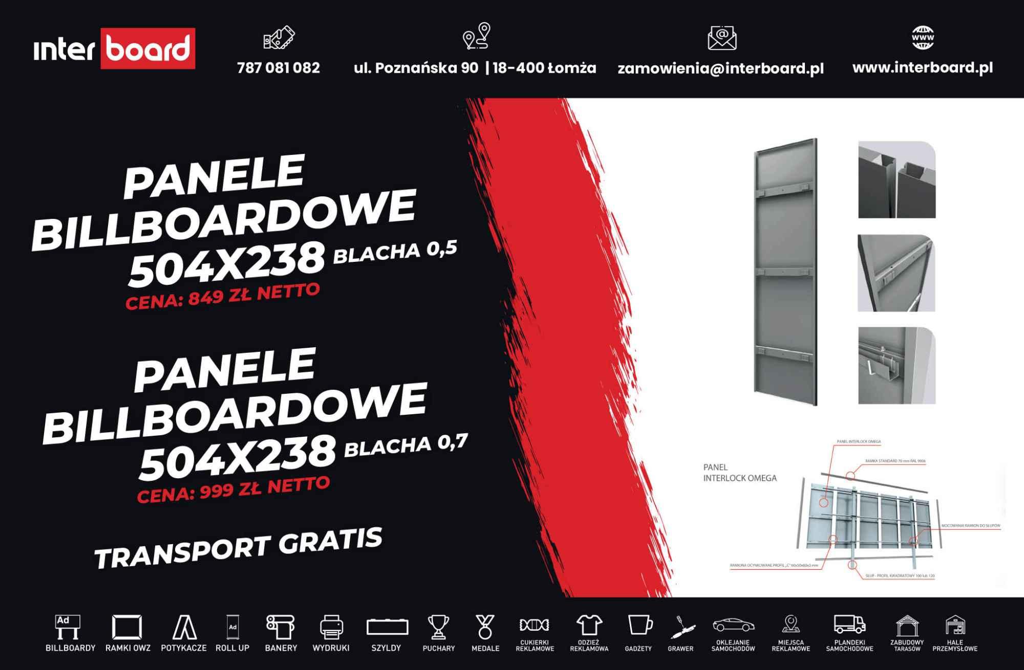 Billboardy reklamowe INTERBOARD Łomża - zdjęcie 2