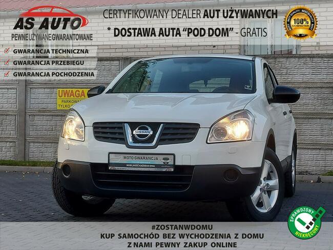 Nissan Qashqai 1,6i 115KM Tempomat/Alu/Serwis/AUX/GwArAnCjA Węgrów - zdjęcie 1