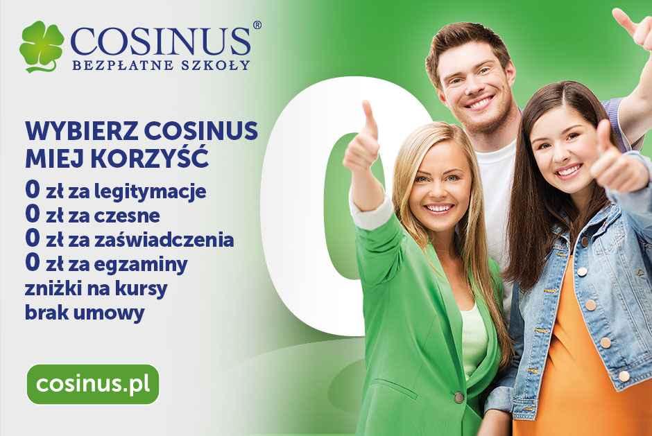 Mamy kierunek dla Ciebie! Cosinus Kraków - bezpłatnie Nowa Huta - zdjęcie 4