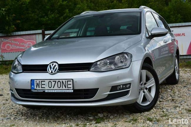Volkswagen Golf 2.0TDI 150KM highline, 1 wł, salon PL, FV 23% Łódź - zdjęcie 2