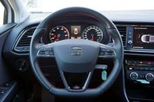 Seat Leon 1.5 TSI 130KM FR 1WŁ Salon Polska Serwis ASO Fv23% Łódź - zdjęcie 12