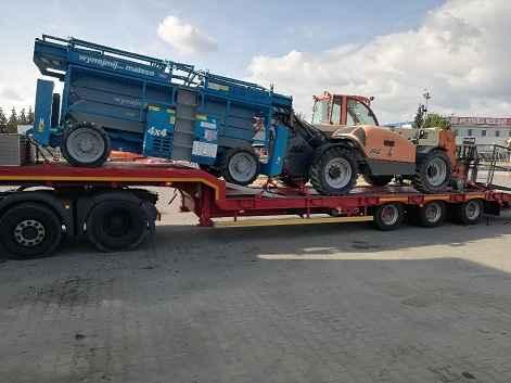 Transport maszyn 24 ton, pomoc drogowa, laweta Poznań Wielkopolska Grunwald - zdjęcie 2
