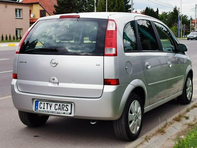 Opel Meriva 1.6 B 100 KM Jedyne 140 tys. km Klimatron z Niemiec Rzeszów - zdjęcie 10