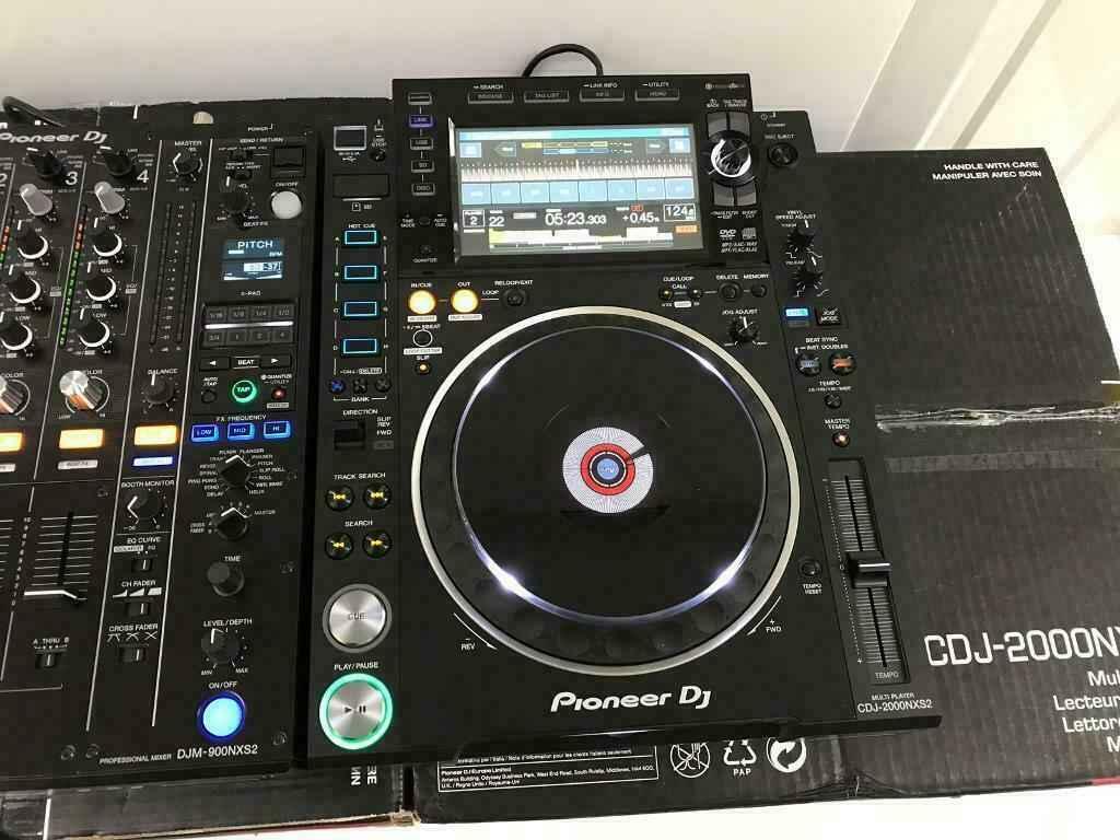 2x Pioneer CDJ-2000NXS2 + 1x DJM-900NXS2 mixer dla 1899 EUR Śródmieście - zdjęcie 2